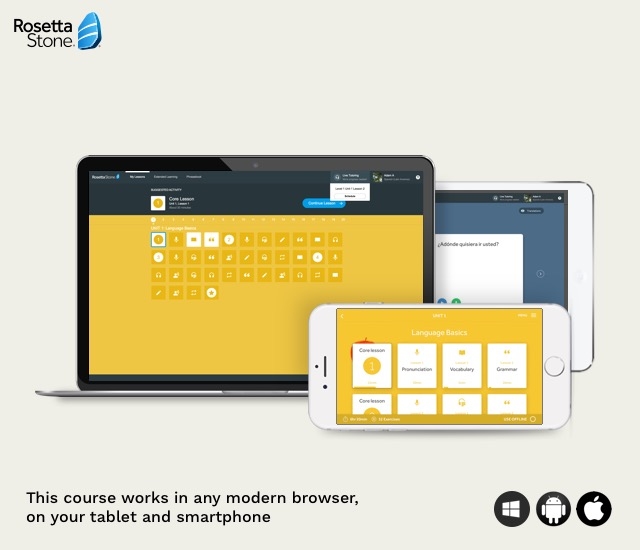 Rosetta Stone Learn Languages Without Translation